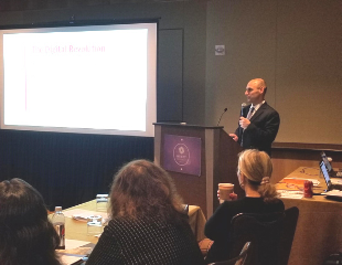 Jonathon Israel with The Florida Bar's Practice Resource Center speaks about Technology's Impact on the Legal Profession in Florida at the SLC Winter Meeting CLE.