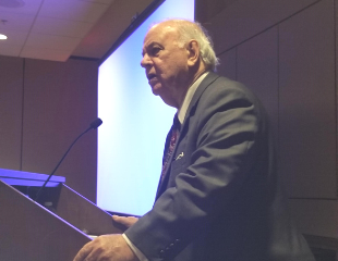 The Honorable E.J. Salcines, Jr. (ret.) speaks about Landmarks and Milestones – 60 Years of Change in the Practice of Law at the SLC Winter Meeting CLE.