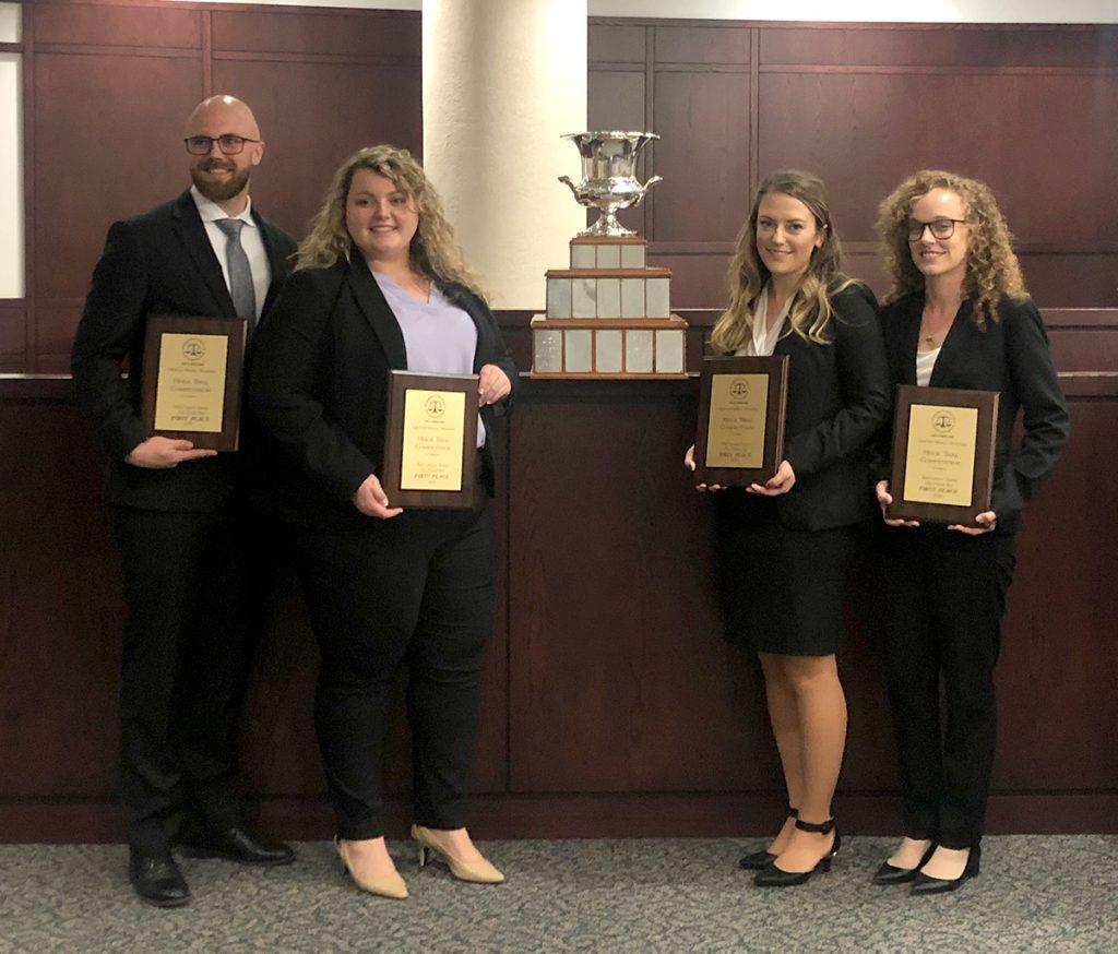 Stetson Law mock trial team