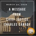 Chief Justice's message