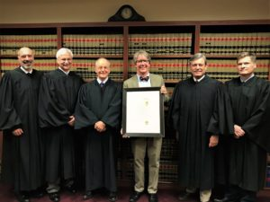 Blan Teagle and the justice of the Supreme Court