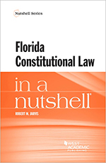 Book cover of Florida Constitutional Law in a Nutshell