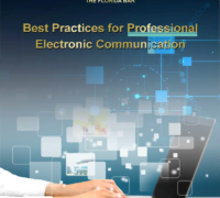 Cover of Best Practices for Electronic Communication guide