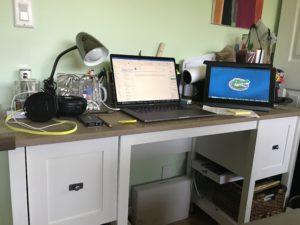 Santo DiGangi's work space