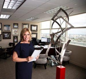 Florida Bar President Dori Foster-Morales in her Miami Beach office