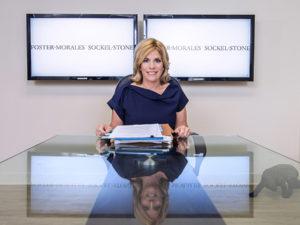 Photo of Dori Foster Morales in office