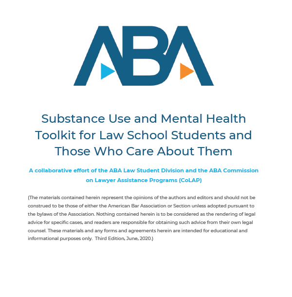 Mental Health Well-Being Tool Kit for law Students