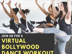 APABA SABA Bollywood Dance Workout Flyer