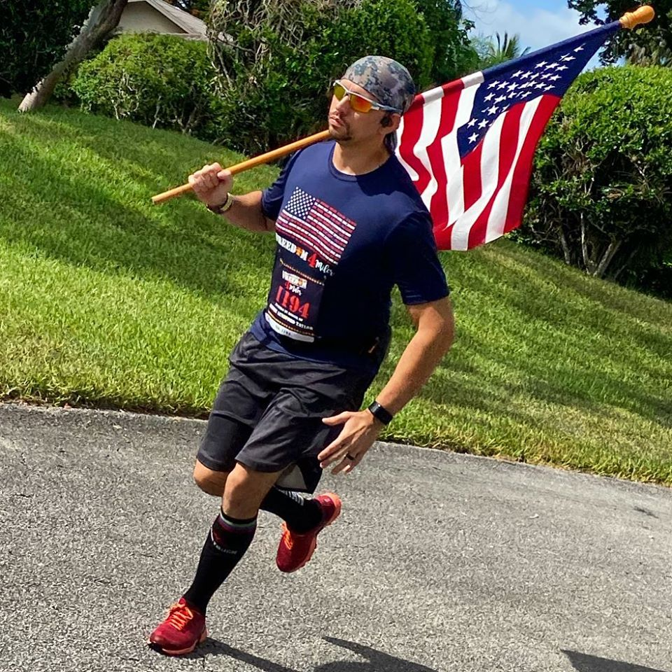 Court employee runs in support of Gold Star families