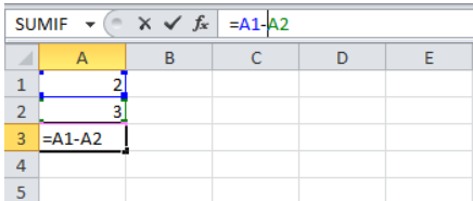 Editing a formula in Excel