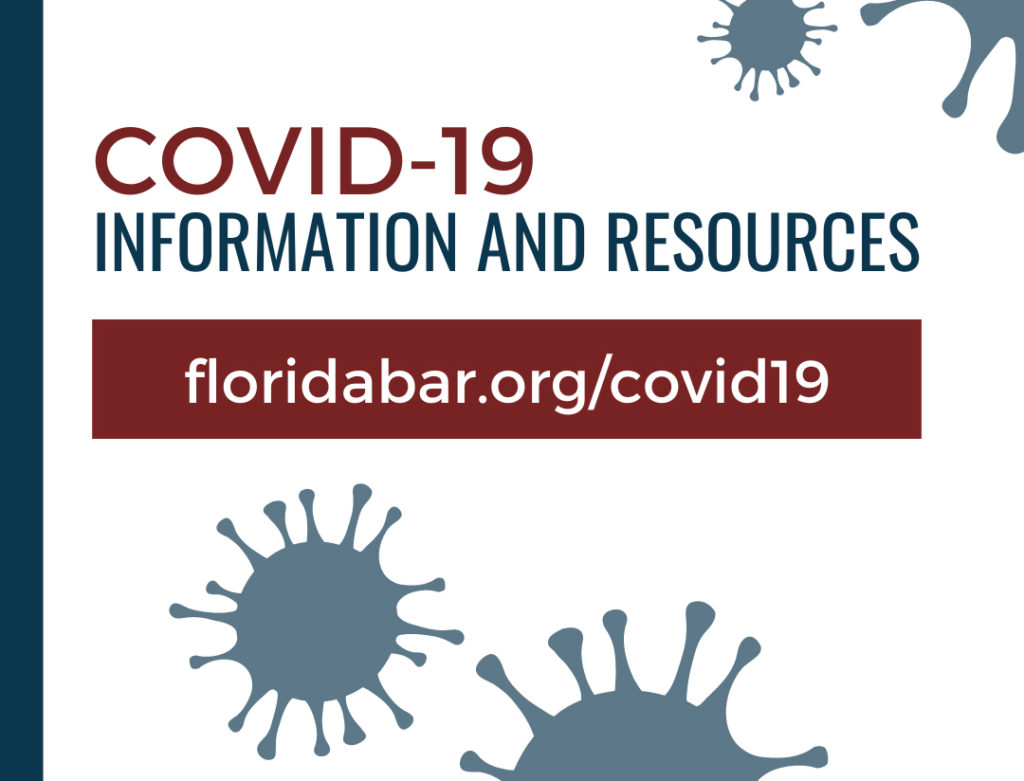 Bar's COVID-19 Information and Resources webpage offers many resourses