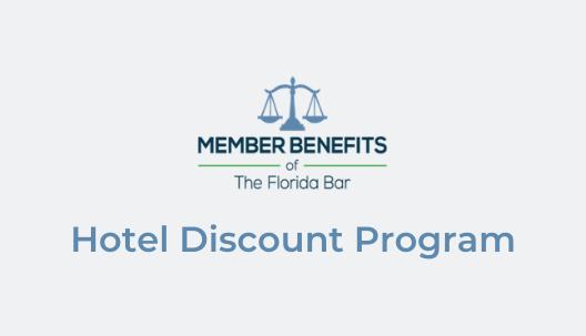 Hotel Discount Program banner