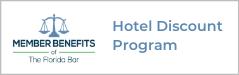 Hotel Discount member benefit button