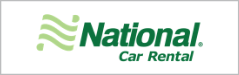 National Car Rental member benefit button