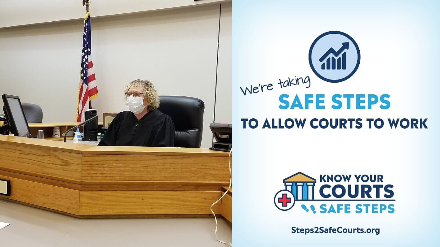 Safe Steps to Allow Courts to Work