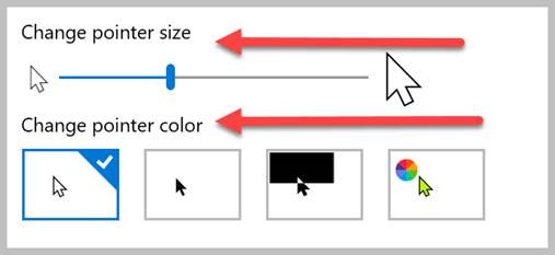 How to change mouse pointer size on a Mac