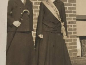 Lucy Ames Edwards and Cora Ames Byrd