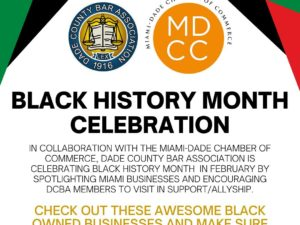 Black History Month Dade Bar