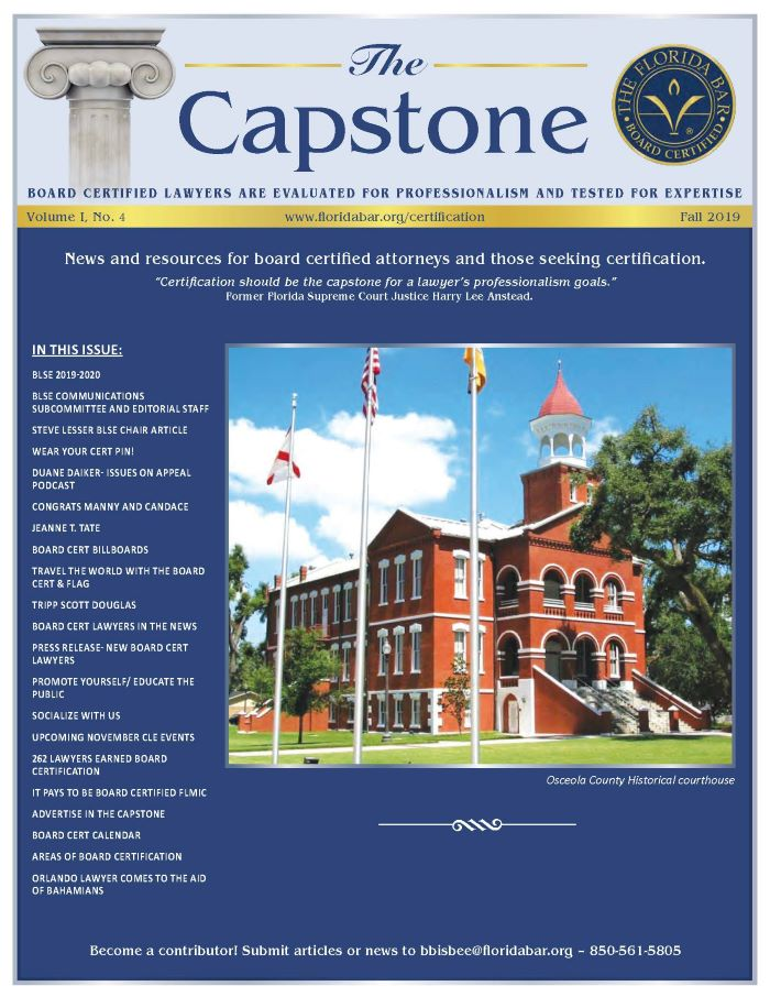 Cover of the Capstone Newsletter