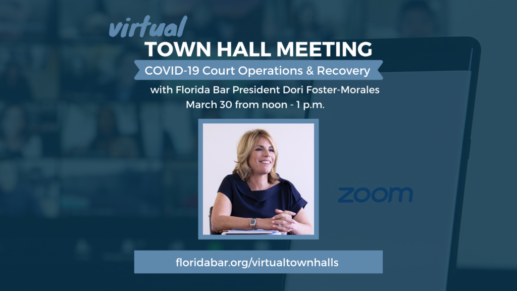 Virtual Town Hall Meeting Update - Video Graphic