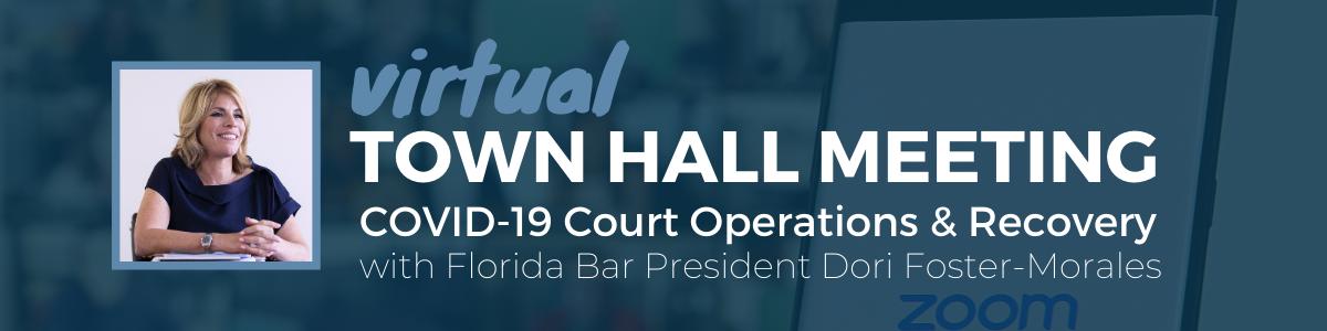 Virtual Town Hall Meeting Update - Website Header