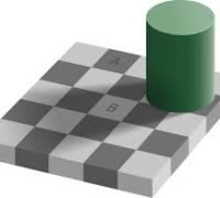 Checker illusion