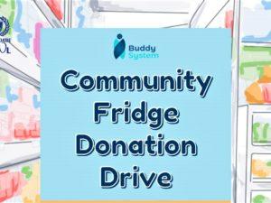 Community Fridge Donations Drive 1