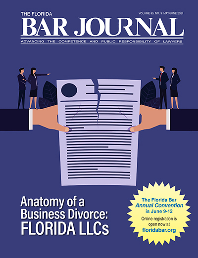 The Florida Bar Journal Digital Edition Cover