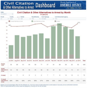 Civil Citation Dashboard
