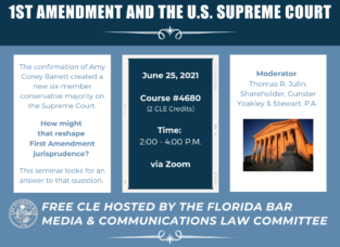 1st Amendment Seminar 2021