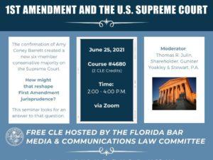 1st Amendment Seminar graphic