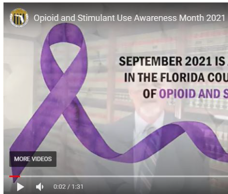 September is Opioid and Stimulant Awareness month
