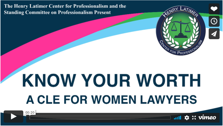 Professionalism course helps women lawyers negotiate pay, benefits