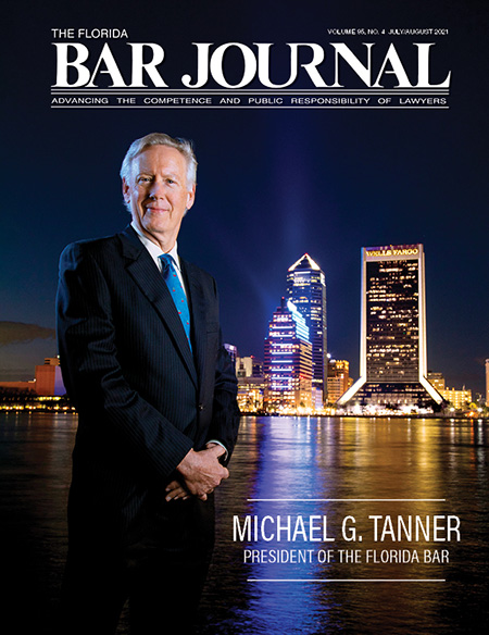 The Florida Bar Journal Digital Edition Cover