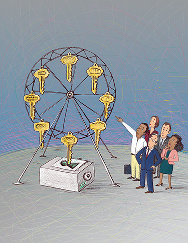 Image of key carousel