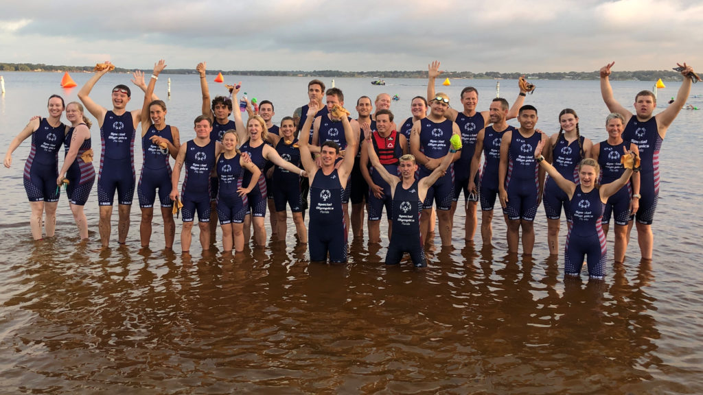 Bar members bring triathlon to Special Olympics Florida